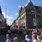 Vista para rua e dos eventos que ali ocorrem