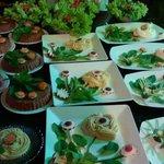 Jantar no terraço tudo de bom e uma delicia