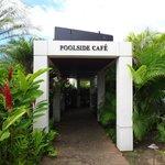Entrée Pool side café
