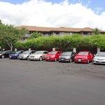 Parc de voitures de location