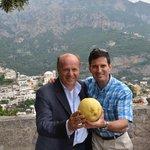 Salvatore (left), Me and a HUGE Lemon