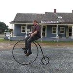 Biking demonstration