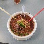 #15 Beef noodle soup.