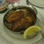 overcooked chicken breast...