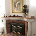 Fireplace in Goldfinch Room