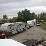 Caravan Arrival, July 2014
