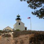 Старый маяк на Point Loma
