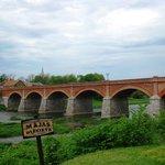 Главная достропримечательность Кулдиги- мост через Венту.