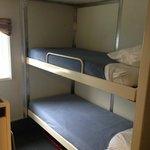 2 berth cabin with full facilities