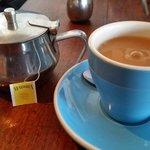 Earl Grey tea, $3.50