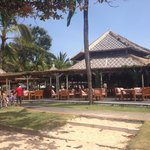 Ikan resto by the beach