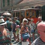 wooden tram