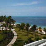 View from my room at Hotel Riu Palace Peninsula