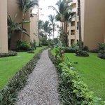 Corridor between Villas La Estancia and Flamingos