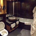 Salle de bain/WC chambre lits jumeaux