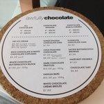 cakes menu
