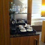 Coffe stand and Mini bar