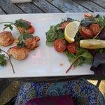 Tasty scallops