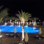 pool @night