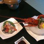 Ise lobster sashimi