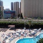 piscina desde habitación