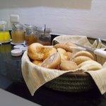 bread & condiments