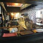 Вид через бар