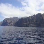Las Gigantes : grandes falaises