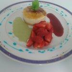 Chibouste revisité aus Spéculoos,farandole de fraises de st potan