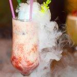 Smoky Cocktails at Sunset Blvd! Thanks Oleg, Irina, Dimitri  And Helena for the photo!