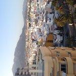 Vista de Marbella do terraço.