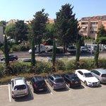 Vue chambre parking