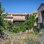 Vue depuis le jardin provencal