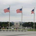 Lincoln Memorial desde abajo del Obelisco