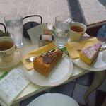 Яблочный торт и торт Амели