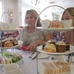 Portion size of Afternoon Tea for four!