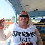 me on beach shuttle bus