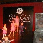 Mini-disco mit Funny
