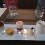 Dessert: Café très gourmand