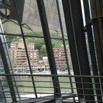 Nervion River see from Guggenheim Museum Bilbao