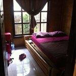 Une chambre du bungalow family