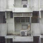 La vue d'une chambre au troisième étage