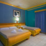 Executive Rooms are spacious and can fit 3 people to no extra charge