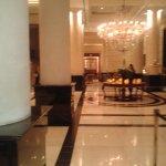 Lobby do hotel.