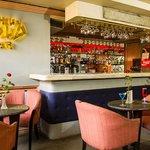 Enjoy at drink at the Gold bar at our sister hotel