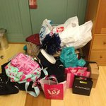 all my shopping!!!
