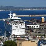 La vue sur la Port de Palma
