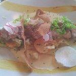 Rognons de veau sauce foie gras
