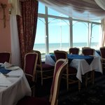 Breakfast room with sea view