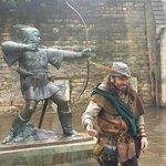Robin Hood Statue @ Nottingham Castle